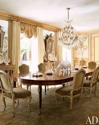 Traditional Dining Room Design Dining Room Categories Dining Room Tufted Gray Chair Brown