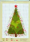 Новогодняя елочка в вышивке