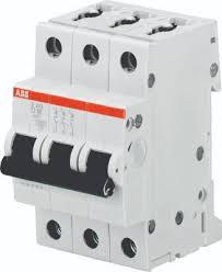 ABB <b>S203 Автоматический выключатель</b> 3P <b>32A</b> (D) 6kA