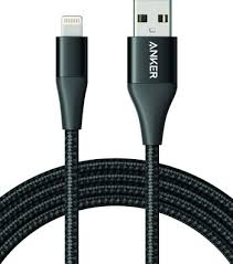 <b>Кабель ANKER Powerline+ II</b> with lightning connector 1.8 м., черный