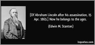 Edwin M. Stanton's quotes, famous and not much - QuotationOf . COM via Relatably.com