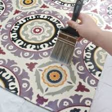 Make your own <b>custom</b> rug out of any <b>fabric</b> you love from the craft ...