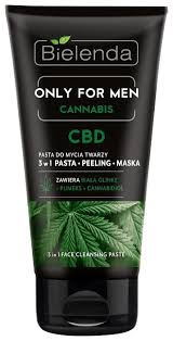 Bielenda Only For Men <b>Cannabis</b> 3in1 Face Cleansing Paste ...