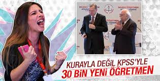 Cumhurbaşkanı Erdoğan öğretmen atamalarında konuştu