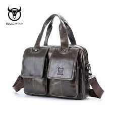 Shop BULL CAPTAIN <b>New Arrival Genuine Leather</b> Bags For Men ...