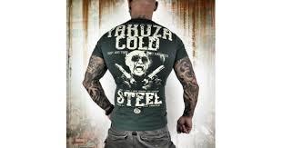 <b>Футболка</b> Yakuza KL <b>Cold Steel</b> (серая) купить в Москве по цене ...