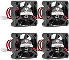 4pcs 3D Printer Fan 12V 0.1A DC 30mx30mx10mm ... - Amazon.com