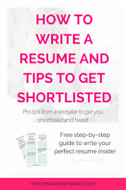 perfect resume  how to design your resume and create a framework to get yourself shortlisted and hired faster