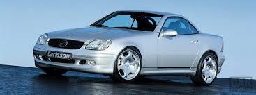 Детали для тюнинга Mercedes R170