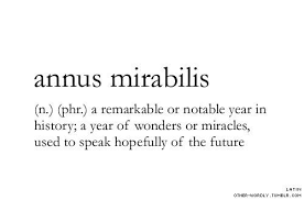 Image result for annus mirabilis quotations