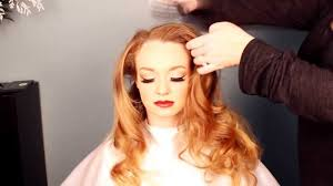 1940s hair and makeup tutorial old hollywood veronica lake look