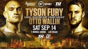 Tyson Fury v Otto Wallin: Live stream, TV channel, PPV price and ...