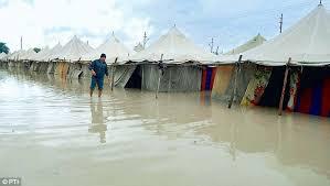 kumbh rain
