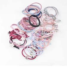<b>5pcs</b>/<b>lot</b> Multicolor Beads <b>Hair</b> Holders <b>Rubber Bands</b> Elastics Girl ...