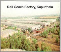 Rail Coach Factory Kapurthala Recruitment 2013