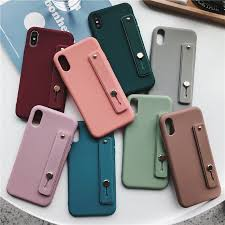 <b>IPhone</b> XR XSmax 6 7 8 6plus 8plus Soft <b>Case Cover</b> Solid Color ...