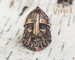 <b>Warrior</b> - Paracord Knife Lanyard Bead in Bronze by TheWinnerStuff ...