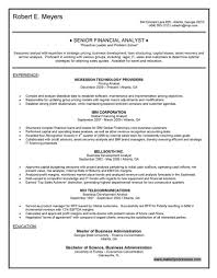 resume samples business sample senior financial examples system enchanting financial executive resume analyst sample
