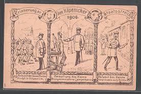 「1906 Der Hauptmann von Köpenick」の画像検索結果
