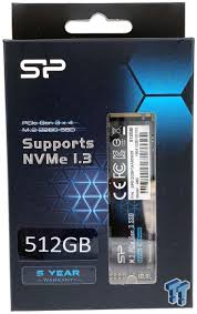 <b>Silicon Power P34A60</b> 512GB NVMe m.2 SSD Review   Ssd, Power ...