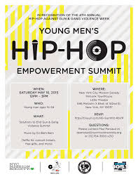 hip hop summit youth council celebrates hip hop against gun and campaign project overview