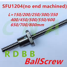 NO END machined <b>SFU1204 150 200</b> 250 300 350 400 450 500 ...