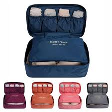 <b>Portable Travel Bra Underwear</b> Waterproof Organizer Cosmetic 5 ...