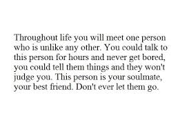 Quote with picture about This person is your soulmate, your best ... via Relatably.com