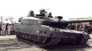 10式 10式戦車 陸上自衛隊