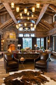 rustic style living room clever: rustic living rooms   kindesign