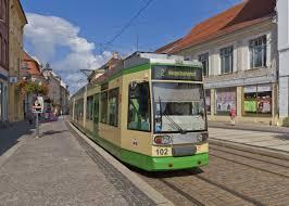 Trams in Brandenburg an der Havel