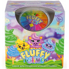 <b>Набор для создания</b> слайма Monster's Slime Fluffy <b>Kiki</b>