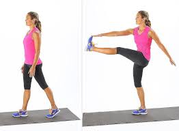 Image result for woman toe touch workout