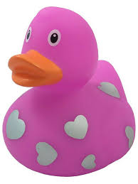 Уточка розовая в сердечках <b>Funny ducks</b> 4110942 в интернет ...