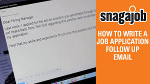 job interview tips part how to write a job application job interview tips part 12 how to write a job application follow up email