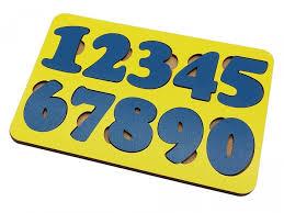 <b>Деревянная игрушка Tau Toy</b> Обучающий набор Цифры 10 ...