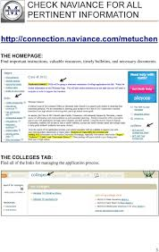the college application handbook pdf com metuchen the homepage important instructions valuable