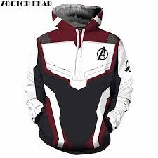 <b>2019</b> Avengers endgame <b>Men Hoodies 3D</b> Print Pullover Tops The ...