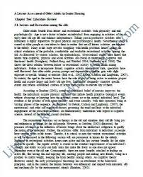 Akilah August          review of related literature format sample jpg
