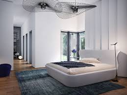 bedroom unique bedroom ceiling fans with pleasant bed in contemporary bedroom themed feat enchanting blue blue white contemporary bedroom interior modern