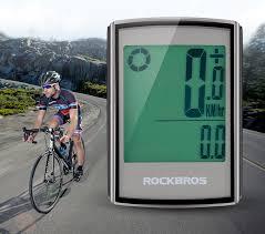 ROCKBROS Waterproof <b>Bicycle Computer LCD Backlight</b> ...