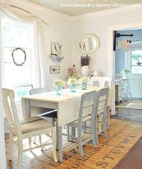 dining room white painted furniture