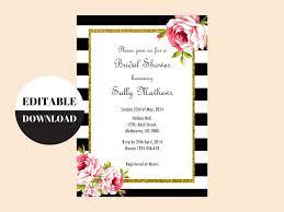 editable invitations > edit > print magical printable editable baby shower invitations editable bridal shower invitations editable birthday invitation black and
