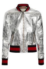 Resultado de imagem para bomber jacket feminina metalizada
