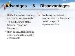 Hasil gambar untuk Three Advantages to an End User of Using IFRS Accounting With Financial Statements
