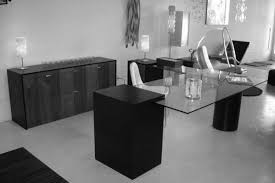 home office contemporary with krystal executive desk minimalist dlongapdlongop inside modern glass of contemporary office black contemporary home office