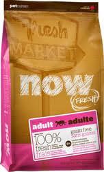 Беззерновой <b>сухой корм</b> для кошек <b>NOW</b>! Fresh Grain Free Adult