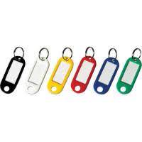 <b>Набор брелоков для ключей</b>, 52 мм, 10 штук, синие | Купить с ...