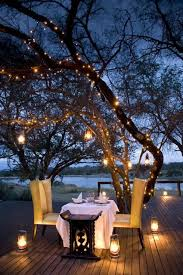 how adorable are those lights this is a truly cute setting for a candle light candle lighting ideas