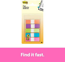 "Post-it <b>Flags</b>, .5"" <b>x</b> 1.7"", 100 <b>Flags</b> with Dispenser, Assorted <b>Colours</b> ..."